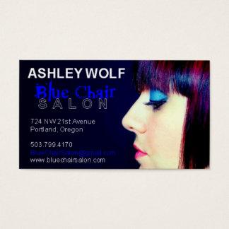 Ashley for Blue Chair Salon Business Card