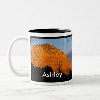 Ashley on Moonrise Glowing Red Rock Mug