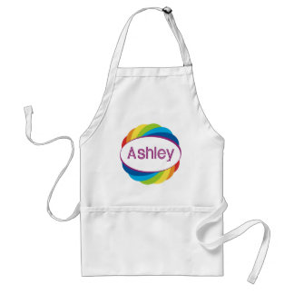 Ashley on Rainbow Standard Apron