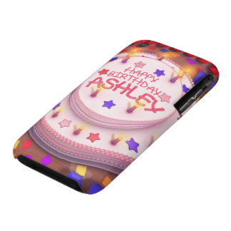 Ashley s Birthday Cake Case-Mate iPhone 3 Cases