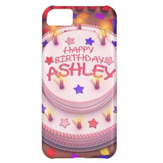 Ashley s Birthday Cake Case For iPhone 5C