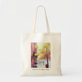Ashley St., Ann Arbor, Michigan Canvas Bag
