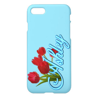 Ashley With Tulips iPhone 8/7 Case