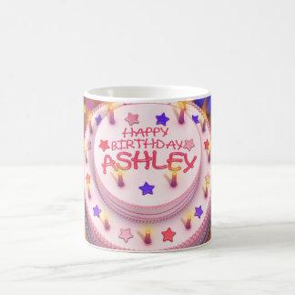 Ashley's Birthday Cake Mug