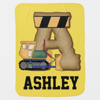 Ashley's Personalized Gifts Swaddle Blankets
