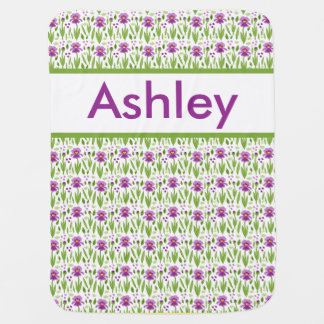 Ashley's Personalized Iris Blanket