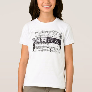ashlyn notes girls ringer T-Shirt