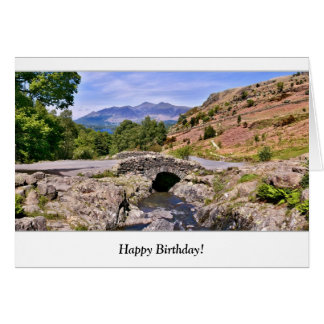 Ashness Bridge Birthday Card