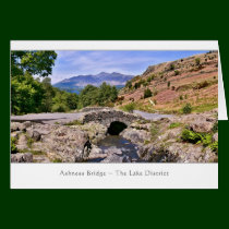 Ashness Bridge - The Lake District Card