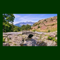 Ashness Bridge - The Lake District Photo Print
