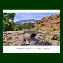 Ashness Bridge, The Lake District - Postcard