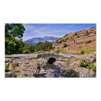 Ashness Bridge, The Lake District Poster