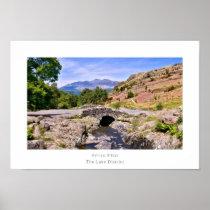 Ashness Bridge, The Lake District Poster