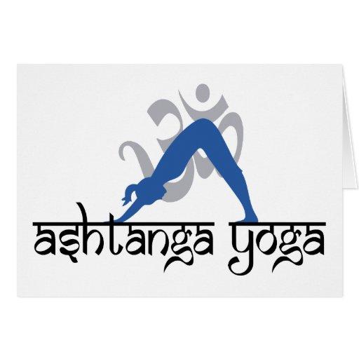 Ashtanga Yoga Gift Greeting Cards