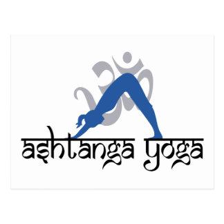 Ashtanga Yoga Gift Postcard