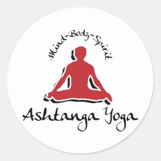 Ashtanga Yoga Stickers