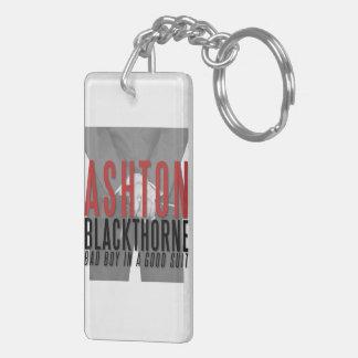 Ashton Blackthorne Keychain