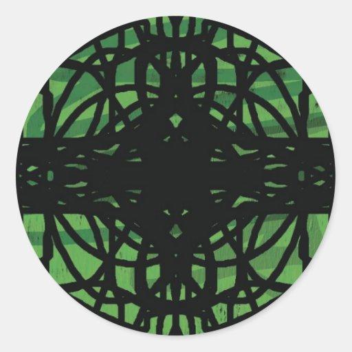 AshWeb Round Sticker