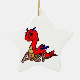 Asi (with name) christmas ornament