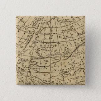 Asia 10 15 cm square badge
