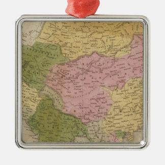 Asia 12 christmas ornament