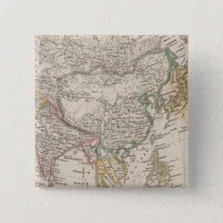 Asia 13 15 cm square badge