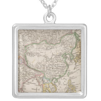 Asia 13 silver plated necklace