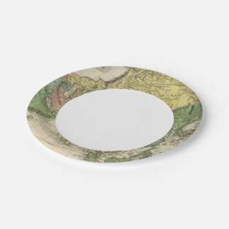 Asia 17 paper plate