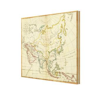 Asia 18 canvas print