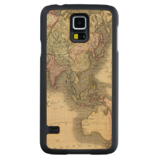 Asia 28 2 carved maple galaxy s5 case