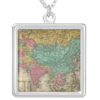 Asia 2 silver plated necklace