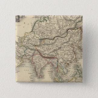 Asia 31 15 cm square badge