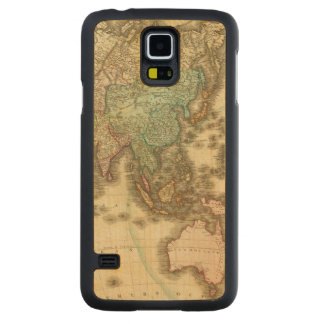 Asia 32 carved maple galaxy s5 case