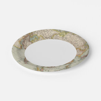 Asia 33 paper plate