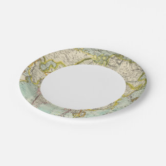 Asia 37 paper plate