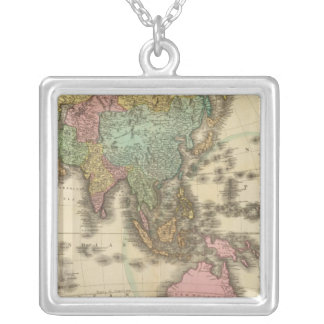 Asia 39 silver plated necklace