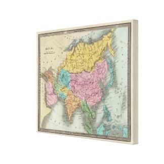 Asia 42 canvas print