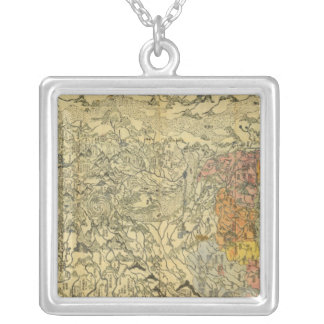 Asia 42 silver plated necklace