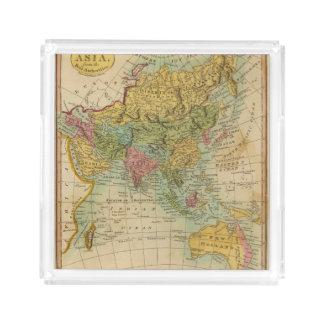 Asia 4 acrylic tray