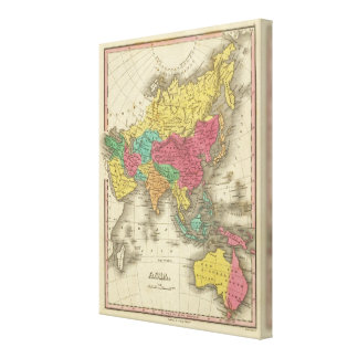 Asia 4 canvas print