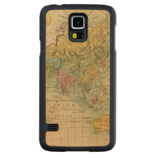 Asia 4 carved maple galaxy s5 case
