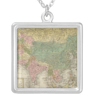 Asia 4 silver plated necklace