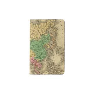 Asia 6 pocket moleskine notebook