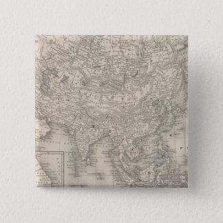 Asia 9 15 cm square badge