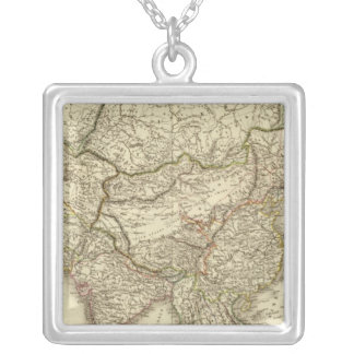 Asia 9 silver plated necklace