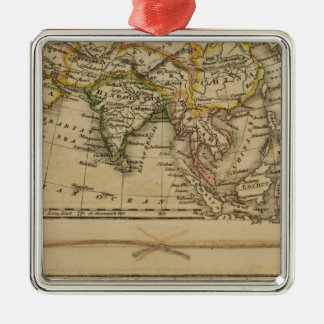 Asia, Africa Christmas Ornament