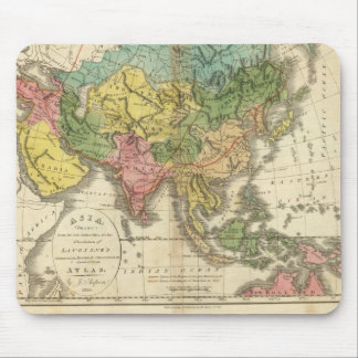 Asia and Empire of Genghis Kahn Mouse Mat