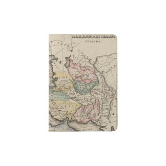 Asia Atlas Map Passport Holder
