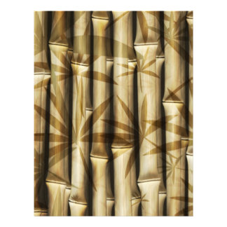"""Asia Bamboo 8.5"""" X 11"""" Flyer"""