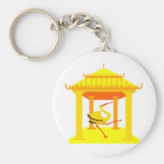 Asia Basic Round Button Key Ring